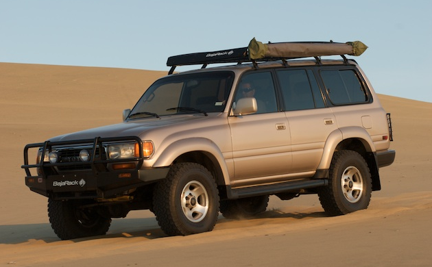 Toyota Land Cruiser 80 Series Baja Racks