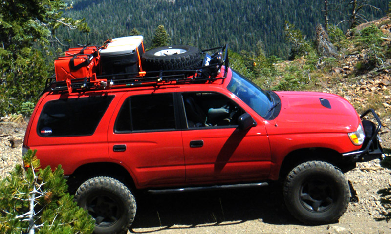4runner 3rd Gen 96 02 Baja Rack Roof Racks