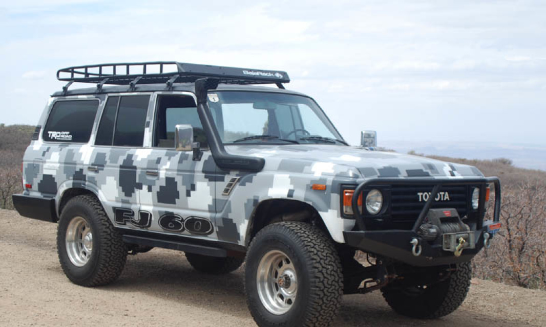 Toyota Land Cruiser 60 Baja Racks