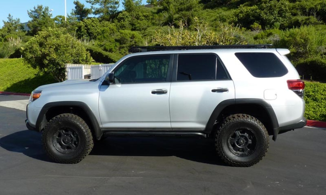 2010 Toyota 4runner Baja Racks