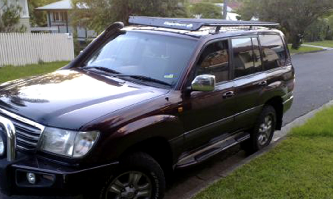 Toyota Landcruiser 100 Series Baja Racks